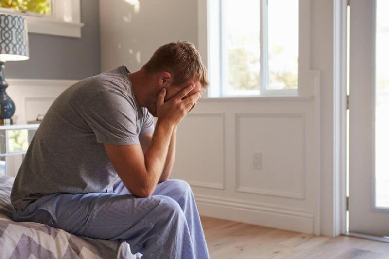 depresión hombre