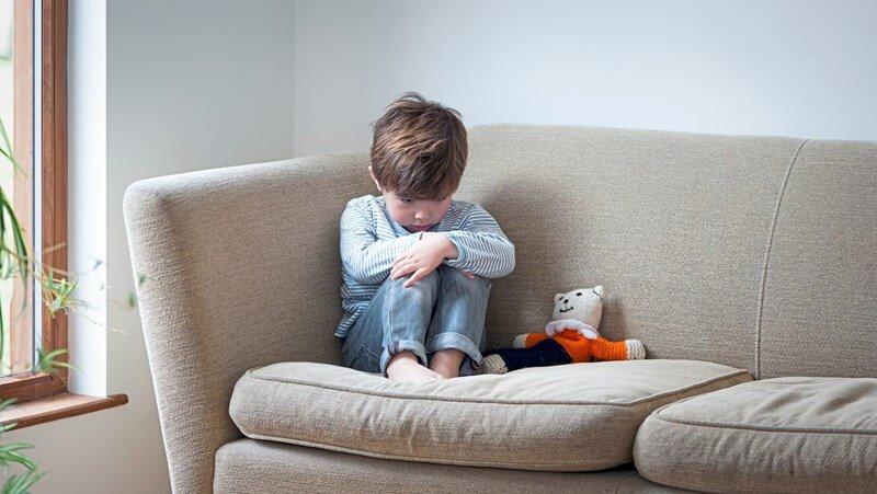 depresión niño